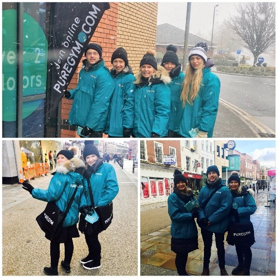 Puregym - Promotional Staff