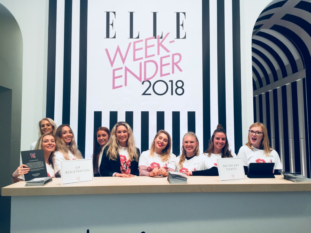 Elle Weekend - Hearst Live - Event Staff Promotional Staff